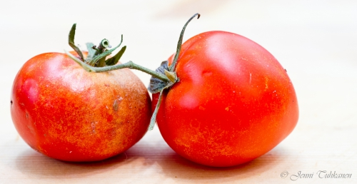 076 Two tomatoes